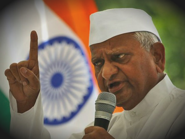 Case Against Anna Hazare For Showing Disrespect To National Flag