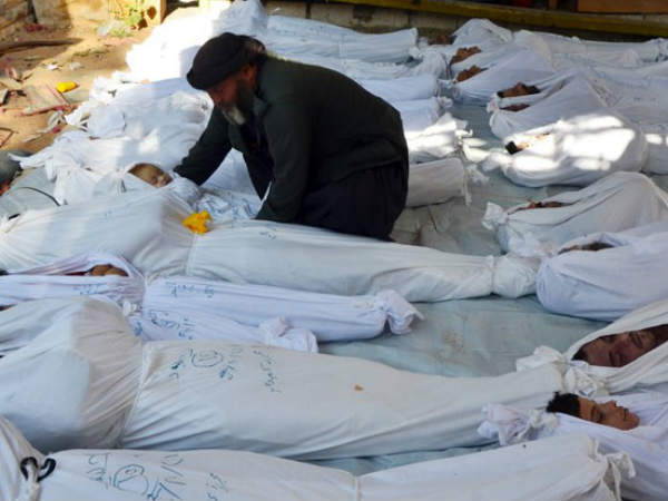 Chemical Attack In Syria Killed