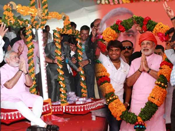 Narendra Modi Felicitated The Newly Created District Of Morbi