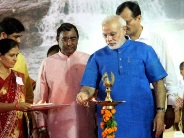 Narendra Modi Visits Newly Created Aravalli District