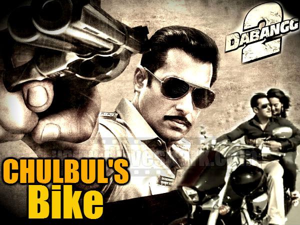 Dabangg Salman Khan Bike Suzuki Intruder