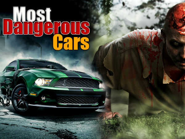 Top 20 World Most Dangerous Cars