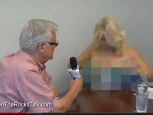 Female Canadian News Reporter Gets Topless During Interview With Mayor