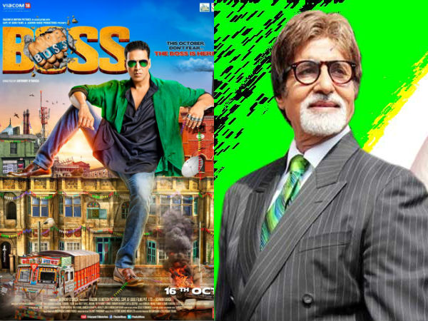 Big B Introduce Akshay Kumar Boss
