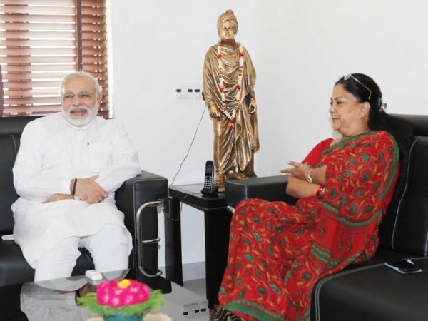 Modi Formula Will Be Implemented In Rajasthan Vasundhara
