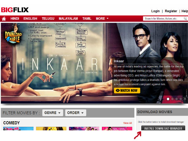 How Download Free Movie Via Bigflix