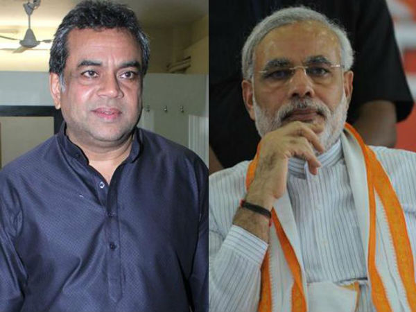 Paresh Rawal Will Play The Role Of Narendra Modi In Upcoming Film