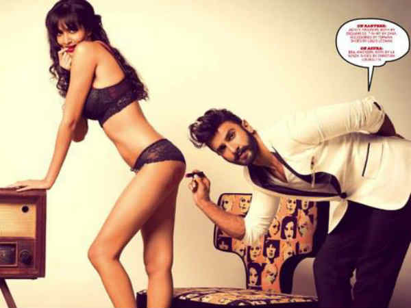 Ranveer Singh Wildest Photoshoot Gq September