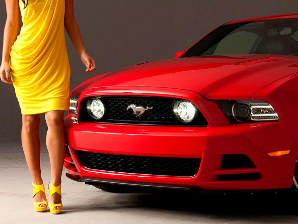Ford Mustang Coming India