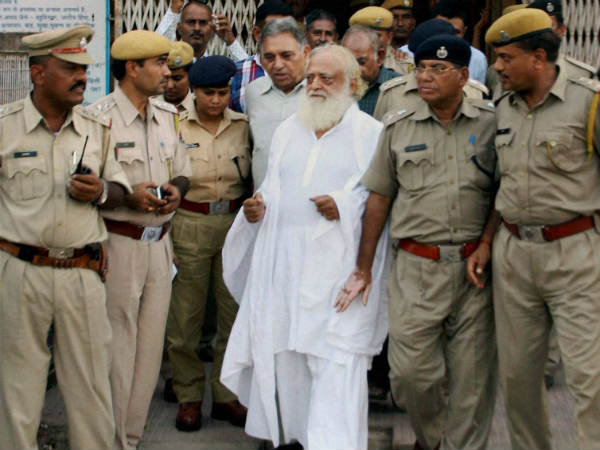 After Sevan Days Asaram Come Out From Jail