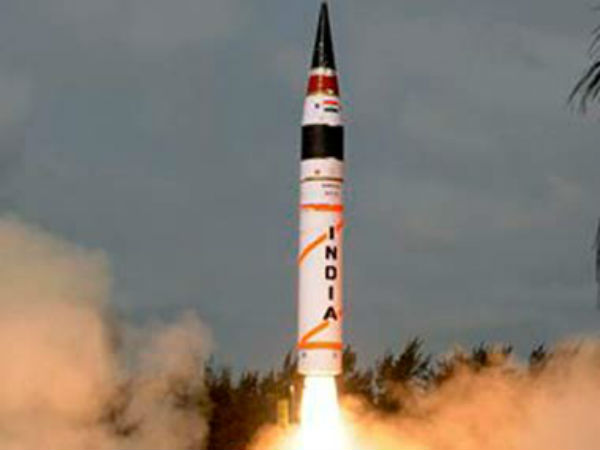 Nuclear Capable Agni V Tested Second Time