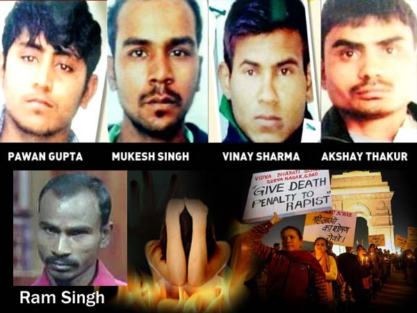 Delhi Gangrape Death Sentence For 4 Accused