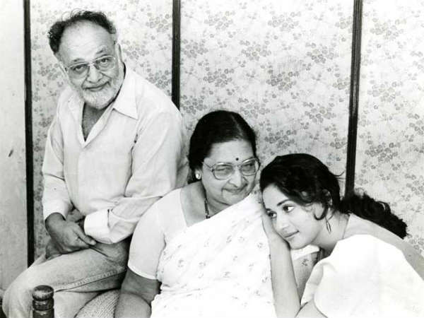 madhuri-dixit-parents