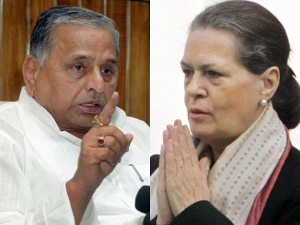 Samajwadi Party Not To File Candidates Against Sonia And Rahul Gandhi