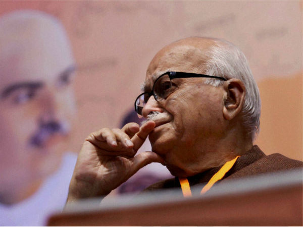Advani Expresses Anguish Disappointment To Rajnath Singh