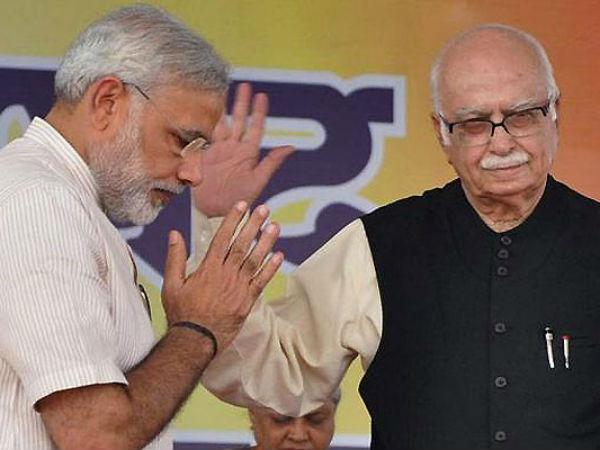 Is Bjp Forum Forced Advani To Praise Narendra Modi