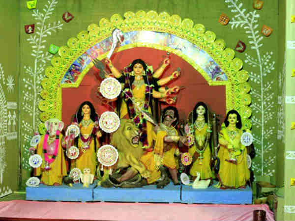 Bangalore Geared Up The Durga Puja