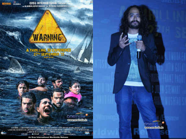 Warning Majorly Shot South Pacific Ocean Gurmeet