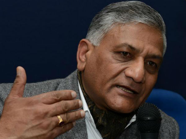 Sc Issues Contempt Notice Former Army Chief Vk Singh