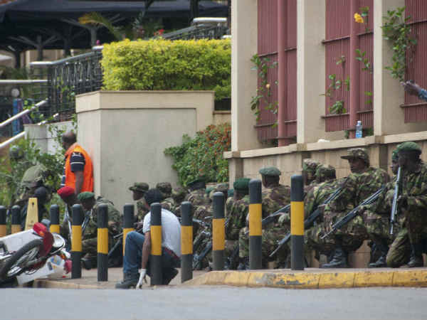 Kenya Troops Have Mall Under Control