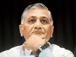 Paying Ministers Nothing New J K Former Army Chief Gen Vk Singh Says
