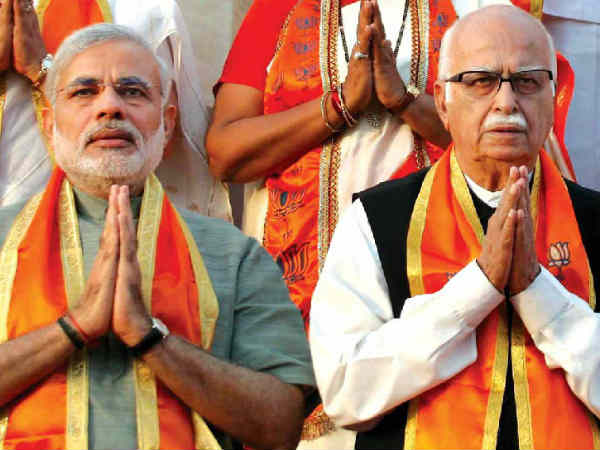 Narendra Modi Advani To Share Stage At Bjp Rally In Bhopal Today