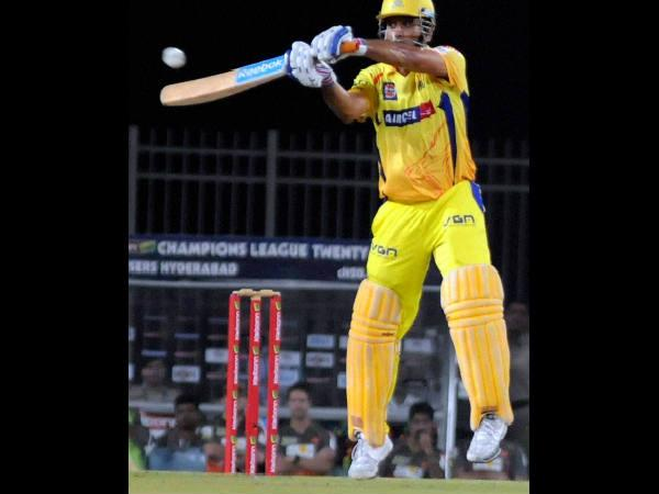 Clt20 After Smashing 8 Sixes Ms Dhoni Is Fined