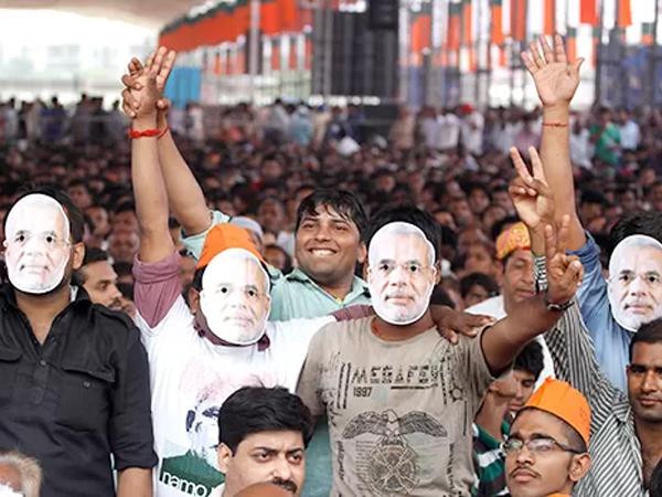 Modi Addressed Massive Vikas Rally Delhi See The Pictures
