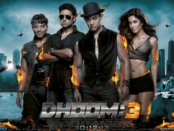 Dhoom 3 Poster Release Aamir Abishek Katrina Uday