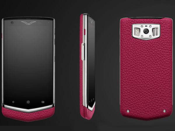 Vertu Constellation Ultra Luxury Android Jelly Bean Handset