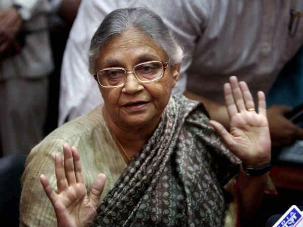 Sheila Dikshit Will Fight Poll With Confidence