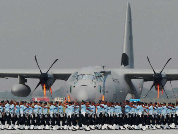 Preparation for Air Force Day