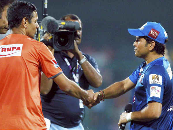 I Have Been Inspired Tendulkar S Exploits Says Dravid