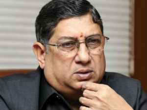 Srinivasan Can Not Take Charge Of President Till Prob End Sc