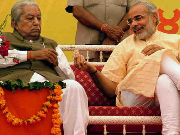 Now Why Gujarat Bjp Trying To Persuade Gpp President Keshubhai Patel