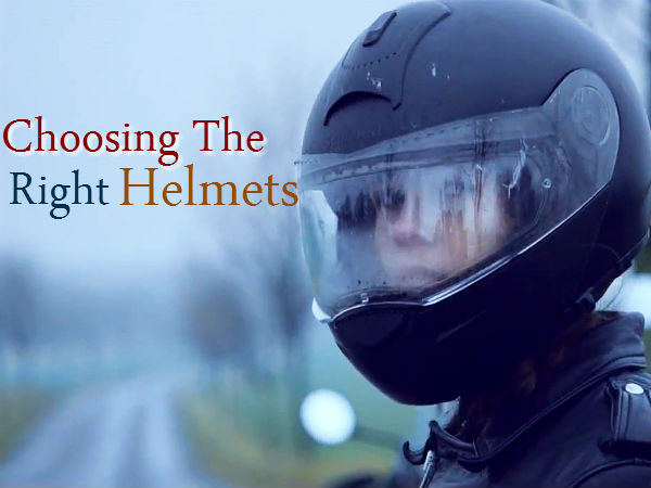 Motorcycle Helmets Tips Choose Motorbike Helmet Size