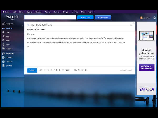 Yahoo Mail Gets Revamped With New Features Like Gmail News