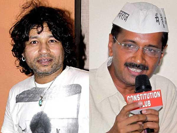 Singer Kailash Kher Records Two Songs For The Aam Aadmi Party
