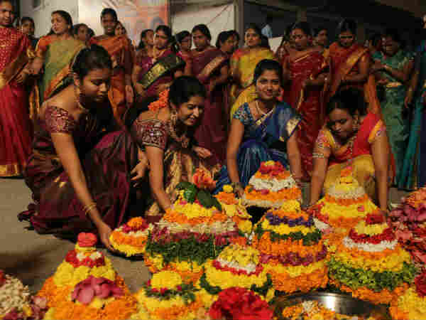 Bhathukamma Is Just Like Navratri Durga Pooja Festival In Telangana