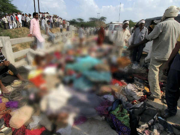 Madhya Pradesh Stampede Toll 115 Datia Officials Suspended