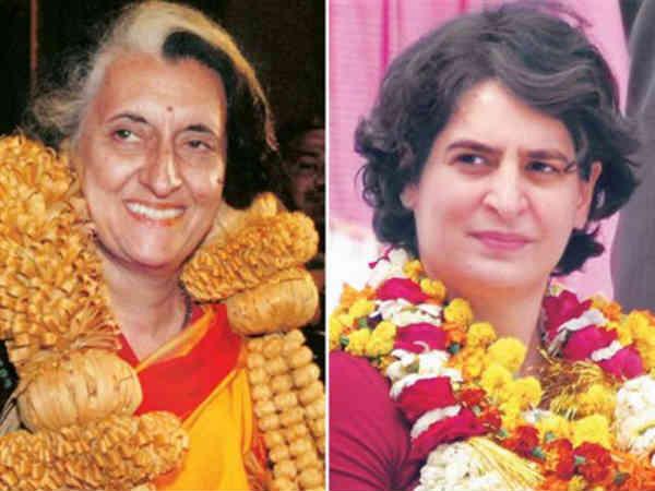 Will Indira Gandhi Look Help Priyanka Gandhi In Loksabha Election