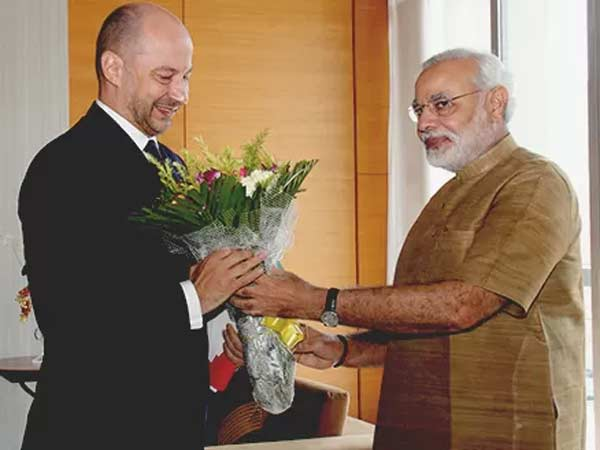 France Envoy Mr Francois Richier Holds Fruitful Meet With Gujarat Cm