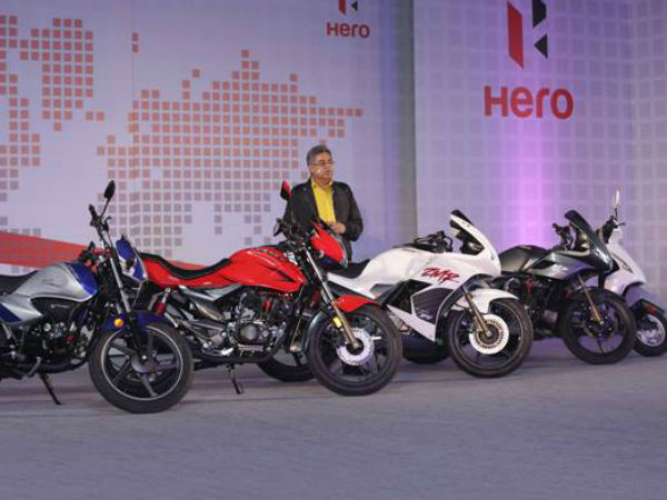 Hero Motocorp Launches 15 New Models