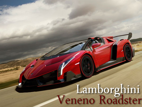 Lamborghini Veneno Roadster Launched World S Most Expensive Car