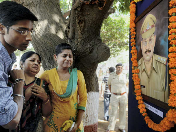 Pics Police Commemoration Day Being Observed
