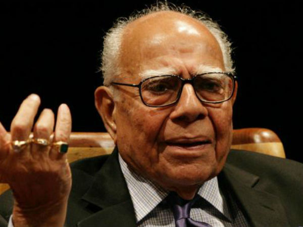 Ram Jethmalani Moves Court Against Bjp Seeks Crores As Damages