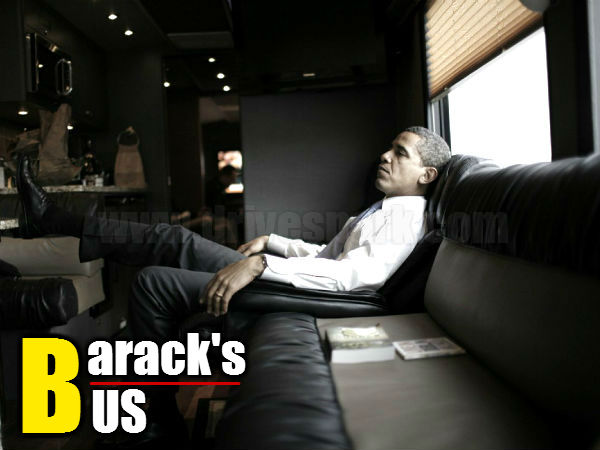 Us President Barack Obama S Luxury Bus Special Review