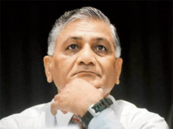 General V K Singh May Contest From Gwalior