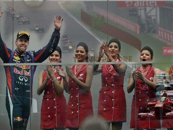 Sebastian Vettel Red Bull Clinch Titles At Indian Gp