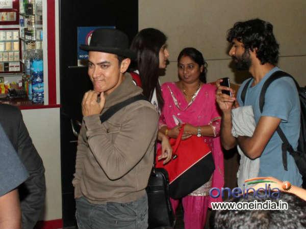 Aamir Leaves Us Receive America Abroad Media Aam Honor